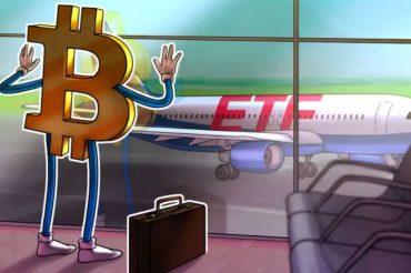 Quy ETF Bitcoin dau tien tai My duoc niem yet San chung khoan New York - anh 1